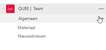 Teams Kanaal e-mailen