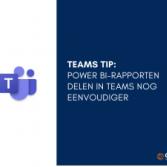 Teams Tip - Sharing Power BI reports in Teams made easier
