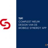 Compleet nieuw design van de mobiele Synergy App