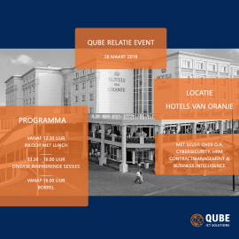QUBE RELATIE EVENT